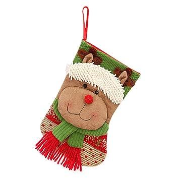 Topdo Bolsa de Regalo Navidad con Cajas de Elk Lindo ...