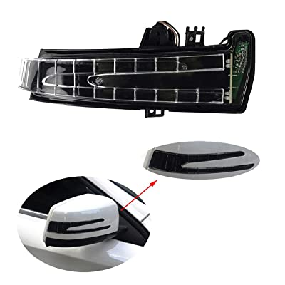 Right Door Mirror Turn Signal Marker Lamp for W212 E W204 C W221 S: Automotive