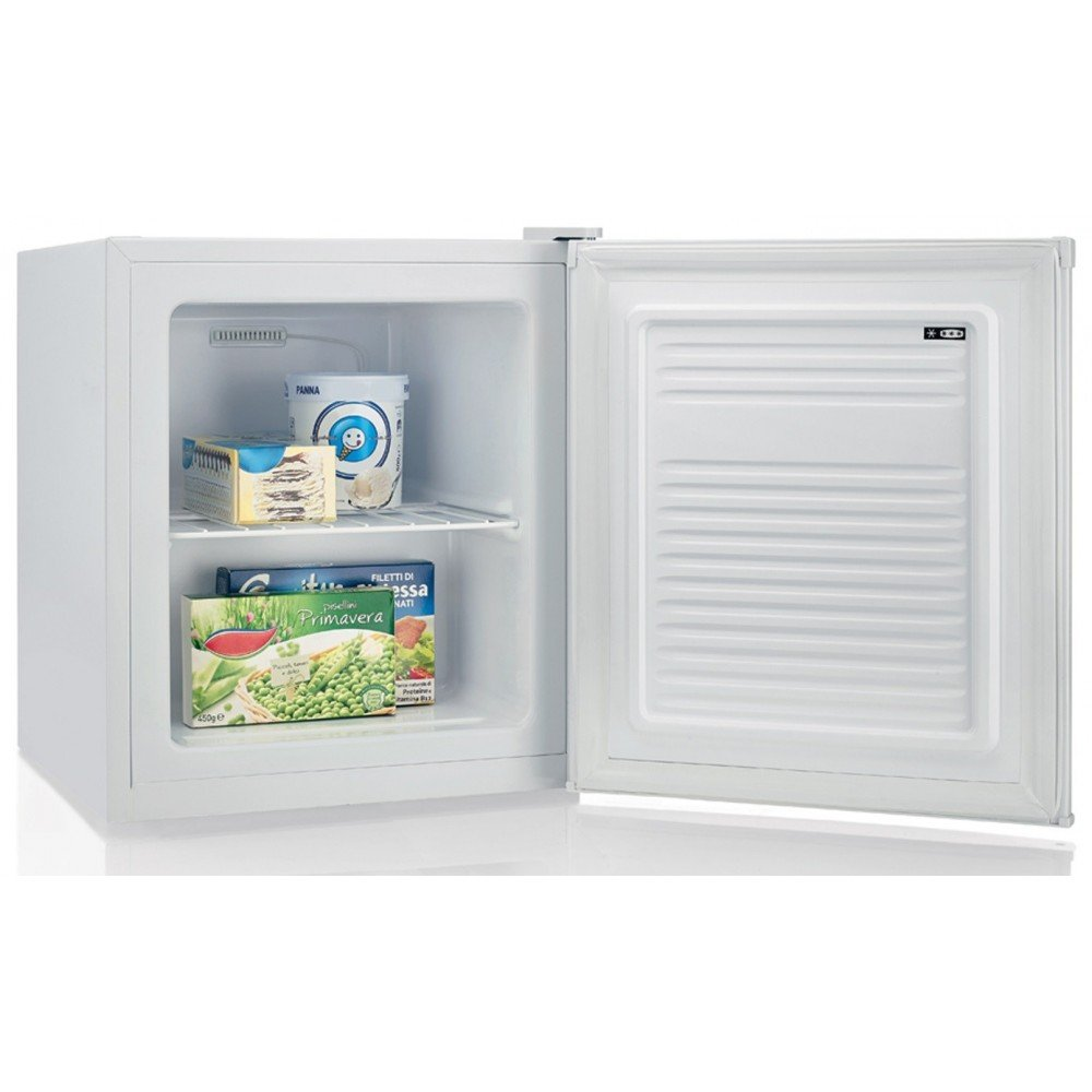 Candy CFU 050 E freestanding Upright 34L A+ White freezer - Freezers (Upright, 34 L, 2 kg/24h, N-ST, A+, White) CFU050E
