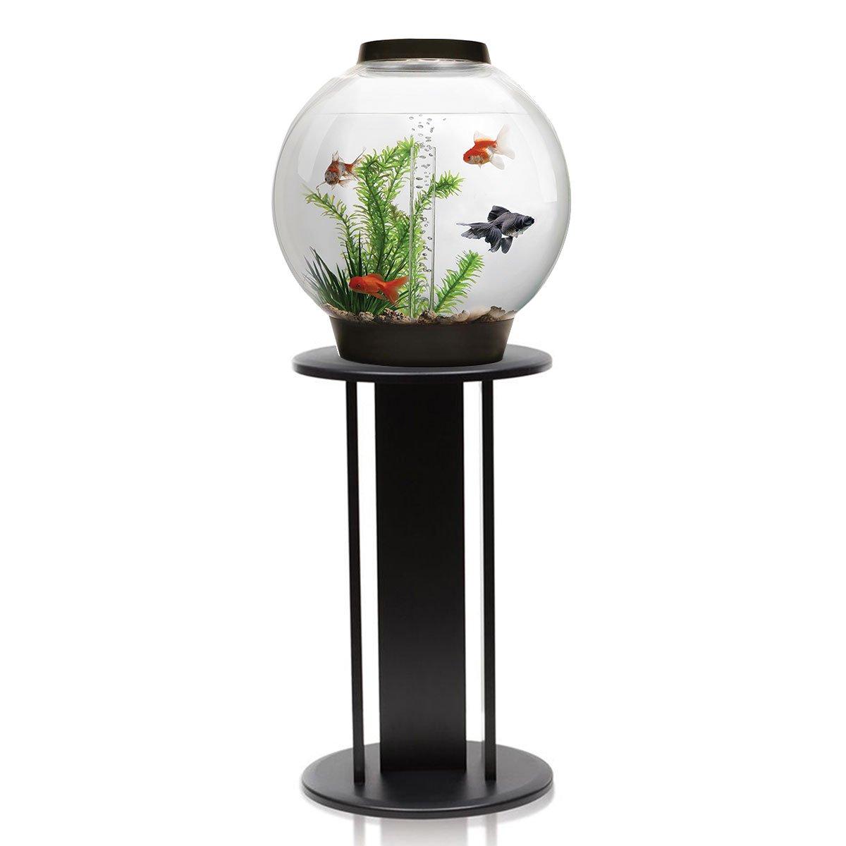 BiOrb Classic 30L Aquarium in Black with MCR LED Lighting & Black Stand