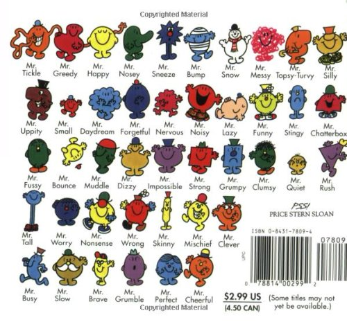 Mr Happy Mr Men And Little Miss Roger Hargreaves 9780843178098