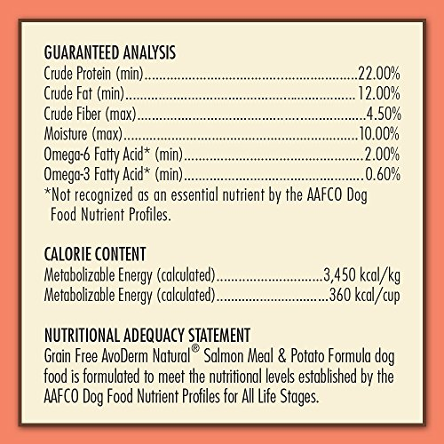 AvoDerm-Natural-Grain-Free-Salmon-Meal-and-Potato-Formula-Dog-Food-24-Pound