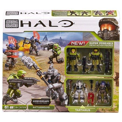 Halo Mega Bloks Set #97519 Anniversary Collection: Battleground by Halo