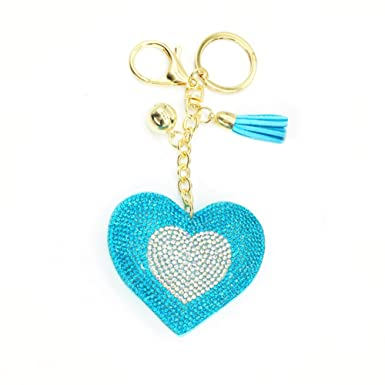 Amazon.com  Personalized Cute Metal Key Chain Key Ring Charms Car  Accessories  Clothing 5535d684d5