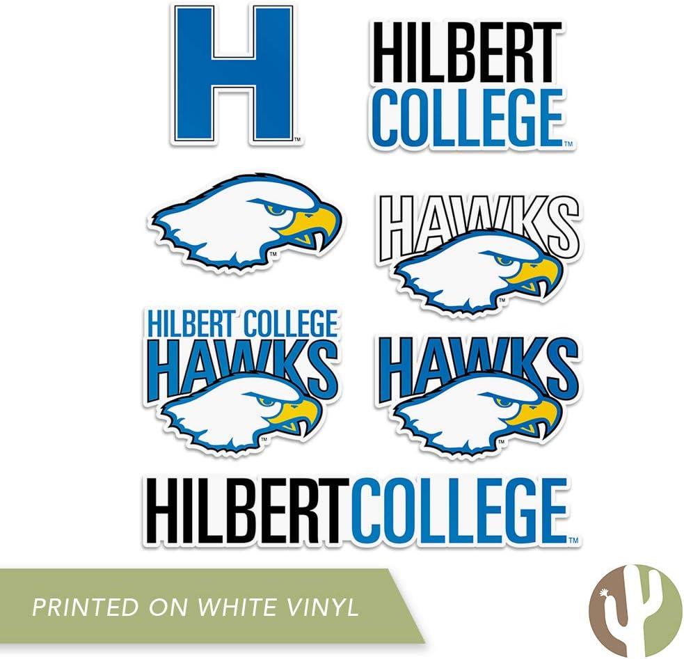 Hilbert College Hawks NCAA Vinyl Decal Laptop Water Bottle Car Scrapbook Sticker - 00003
