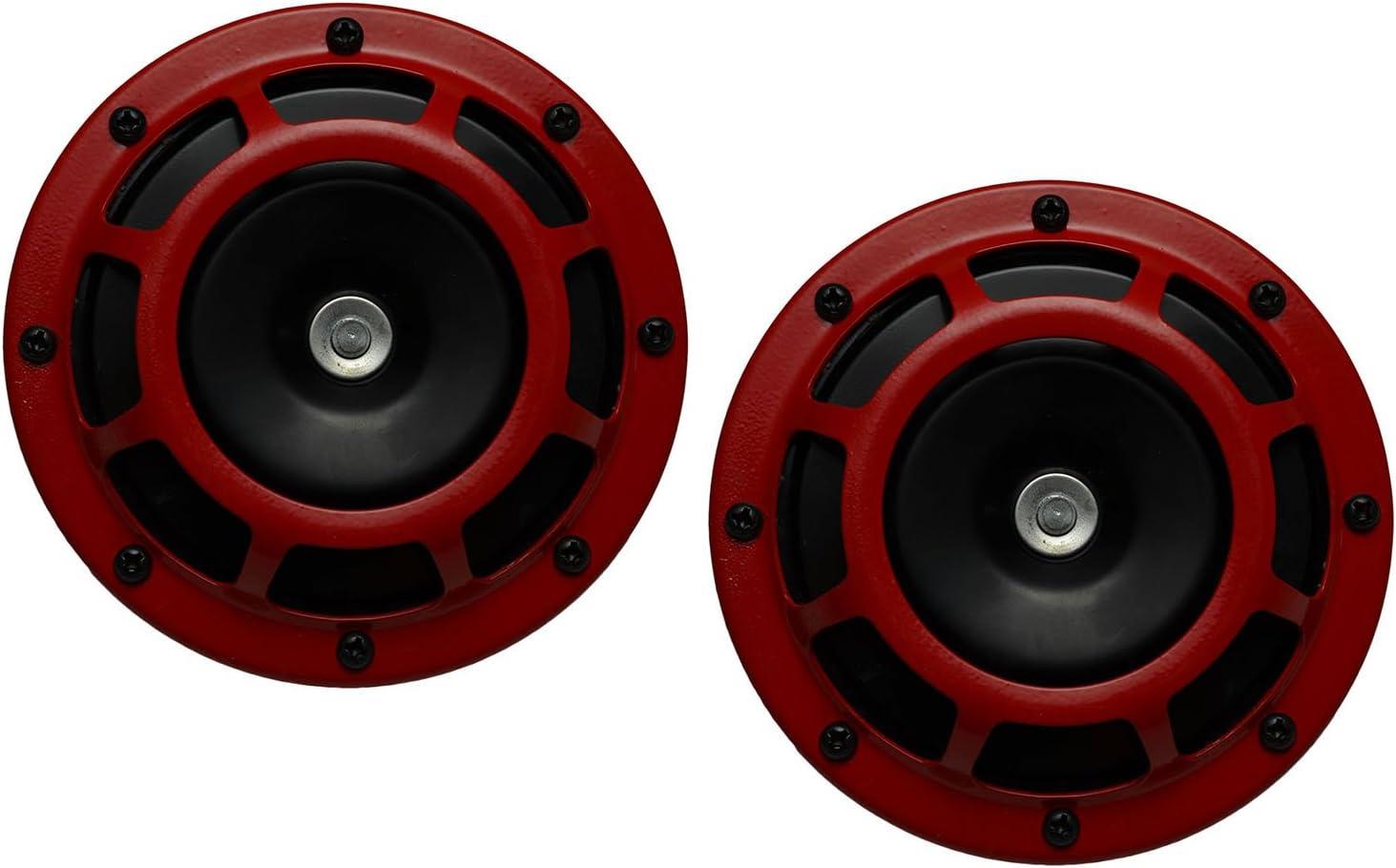 Sickspeed Blue Super Loud Single Electric Blast Tone Horn for Car//Truck//SUV 12V P1 for Hyundai Genesis