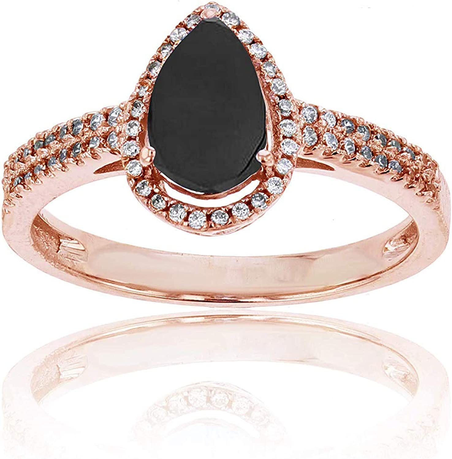 2Ct Oval-Cut Dedicated Pink Diamond Halo Engagement Ring 14k Rose Gold Over