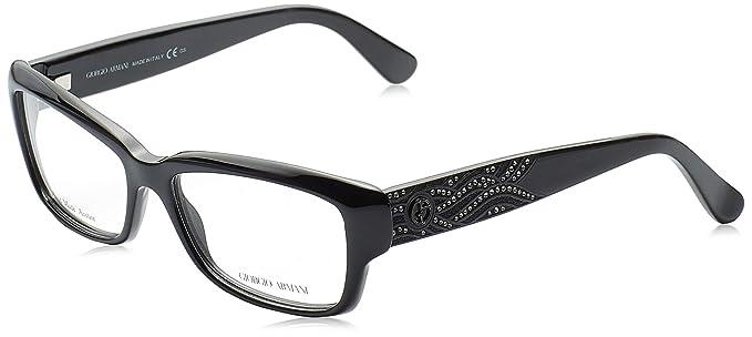 Armani 0AR8007 501731 50, Gafas de Sol para Hombre, Negro ...