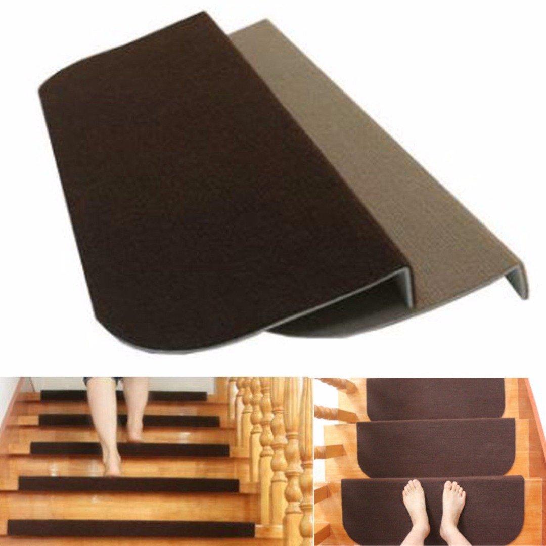 Beige Tapis Marchettes descalier Antid/érapant Rectangulaire Interieur Dessin