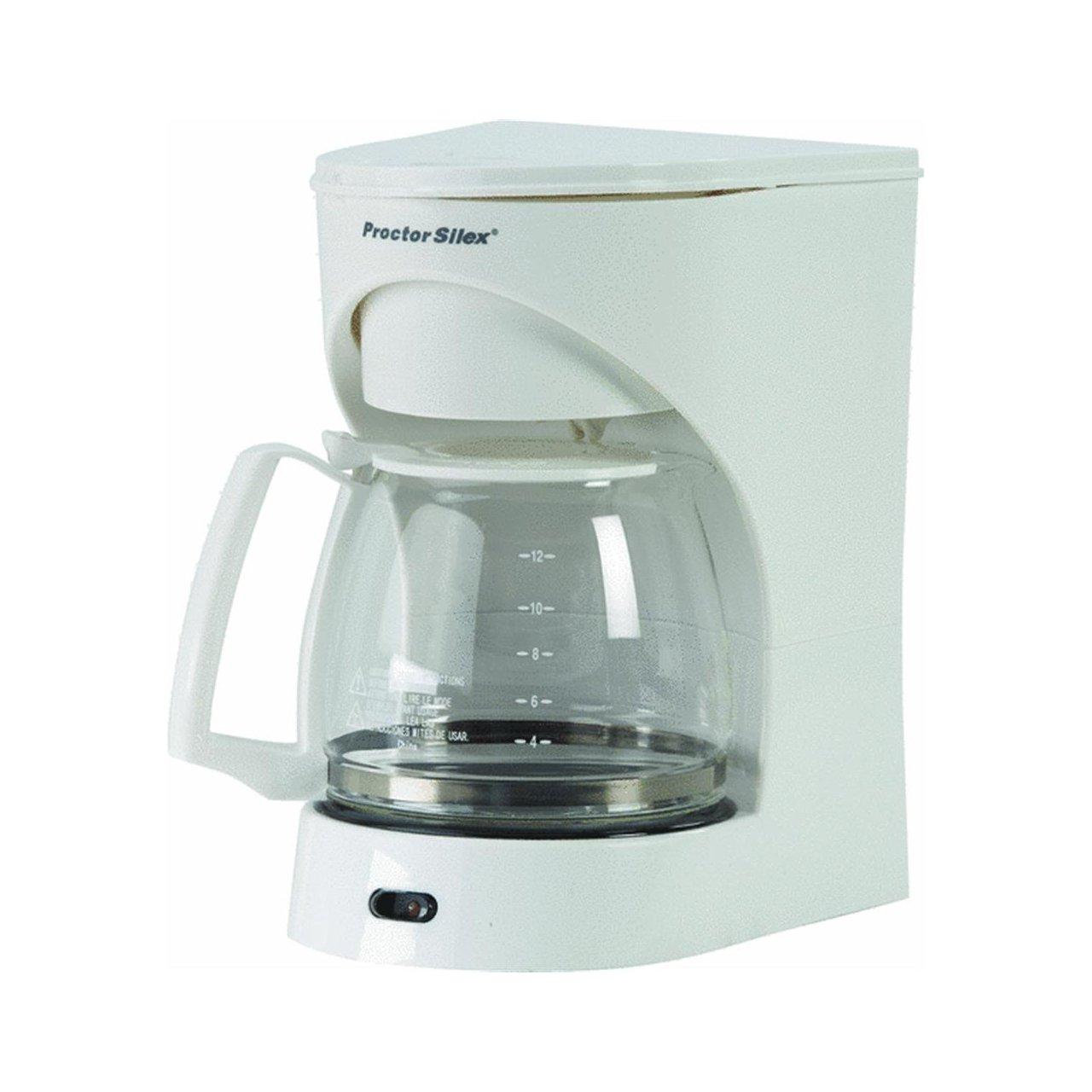 Proctor Silex 43501 12カップコーヒーメーカーホワイト   B000LSWHLQ
