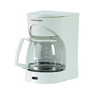 Proctor Silex 43501 12-Cup White Coffeemaker