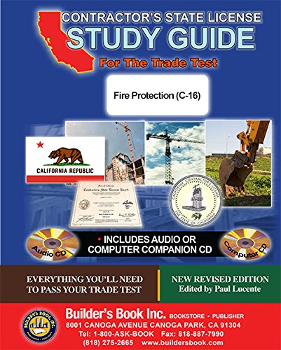 Jaset's Home Seminar Course, C-16 Fire Protection -  Builder's Book, Study Guide, CD-ROM