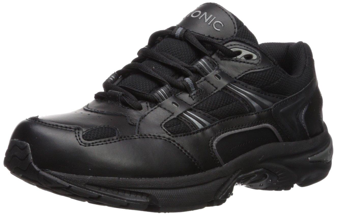 Vionic Women's Walker Classic Shoes, 8 B(M) US, Black by Vionic (Image #1)