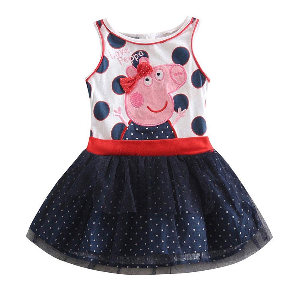 LEMONBABY Princess Peppa Pig Birthday Party Dress