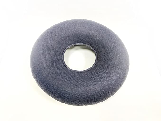 Acuario inflable Donut cojín en forma de anillo (reduce la presión ideal para personas de las hemorroides y pilas, para el coxis dolor, Post natal y Post ...