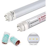 2×Auralum® Tubos LED T8 120cm 20W Blanco Frío
