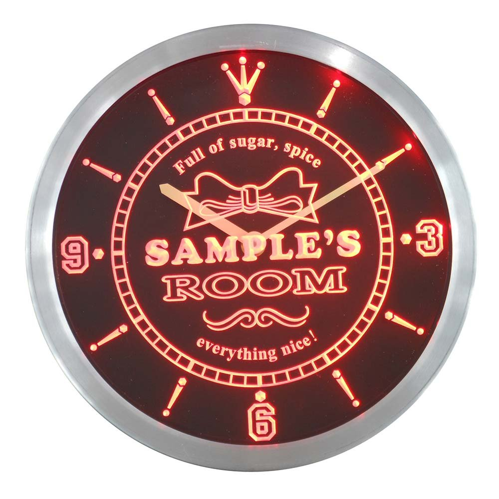 ncpe0239-r Tanyas Girl Princess Kids Room Night Light Neon Sign LED Wall Clock Light Signs Specialty & Decorative Lighting