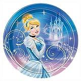 Unique Disney Cinderella Dinner Plates, 8-Count