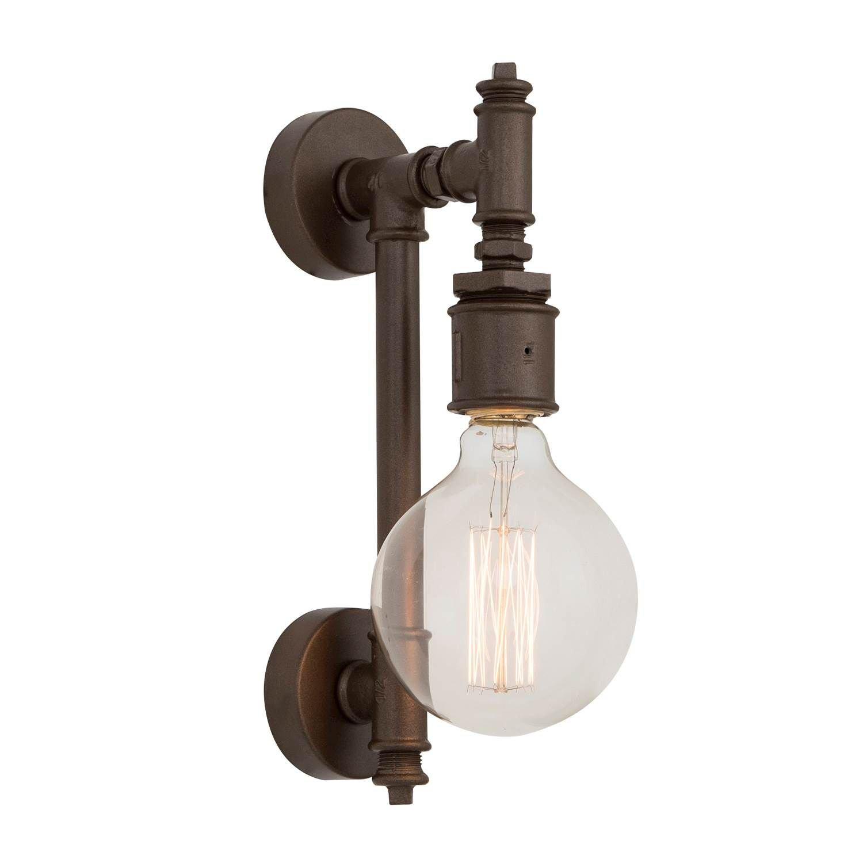 Design Light Lampada Da Parete Metal Light&Design 8698522546988-TR 8698522546988_MetalBrown