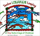 download ebook twelve lizards leaping: a new twelve days of christmas by jan romero stevens (2003-05-01) pdf epub