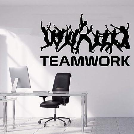 ziweipp Ufficio Quote Adesivo Idea Lavoro di Squadra Affari ...