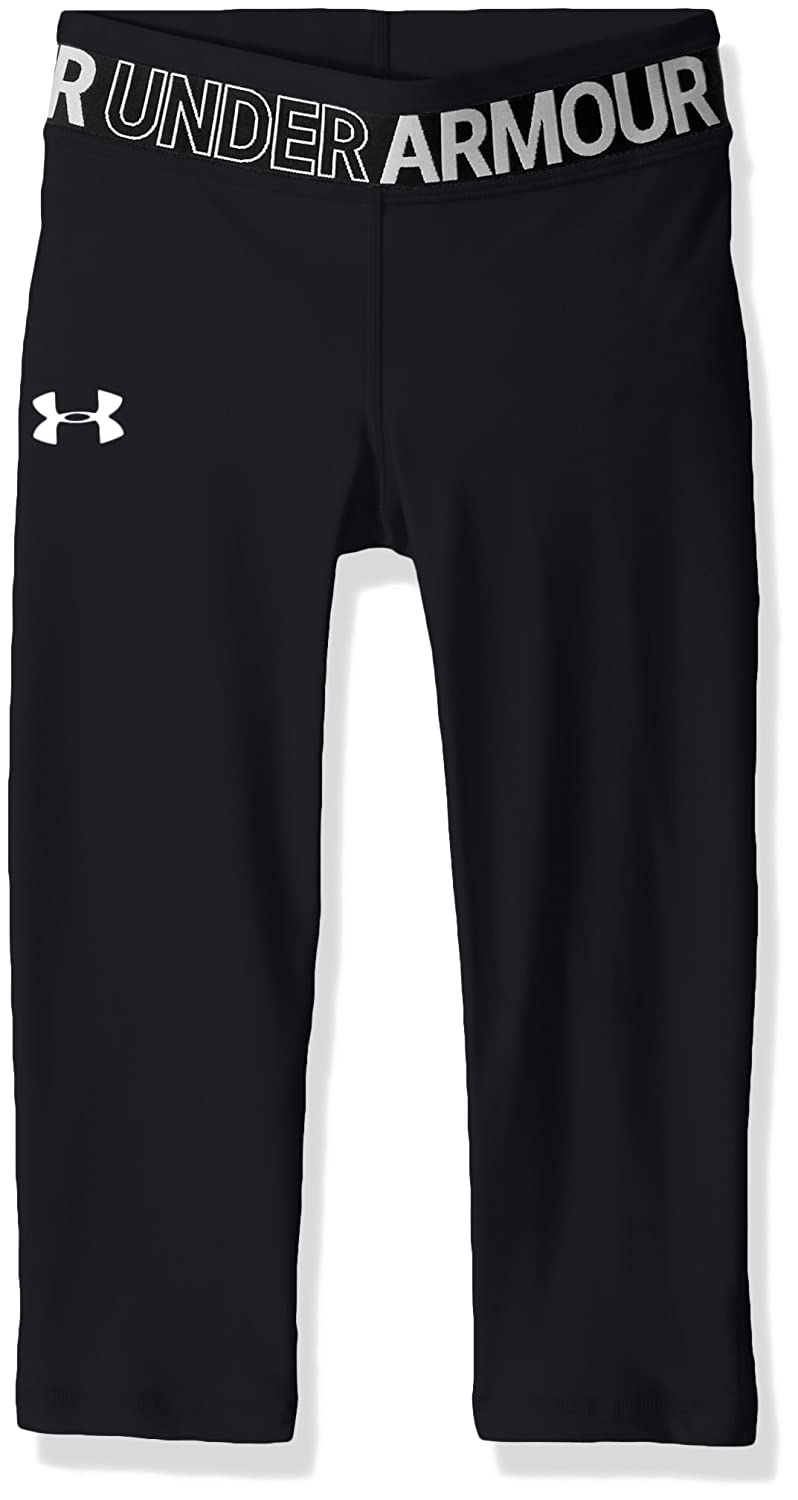 Under Armour Girls' HeatGear Armour Capris Under Armour Apparel 1305644