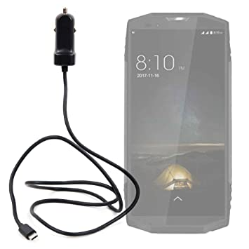DURAGADGET Cargador de Coche USB C para Smartphone Blackview ...
