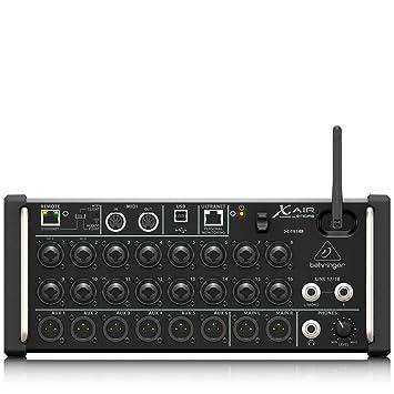 Amazon.com: Behringer XR18 Digital Mixer: Musical Instruments