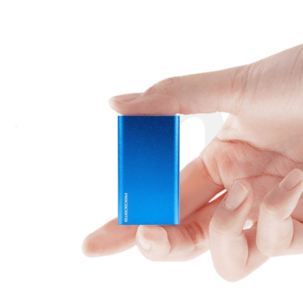 iRecadata Mini Portable SSD Hard Drive, External mSATA Solid State Drive ,USB 3.0 SSD (64GB) MINI-BL64GB