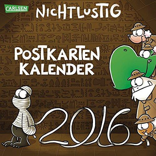 Nichtlustig Postkartenkalender 2016