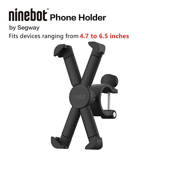 Segway Ninebot Attachable Phone Mount for ES1/ES2/ES4 Electric Kick Scooters