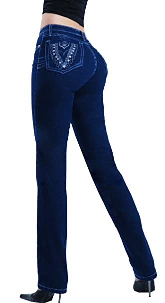 321849fee Butt Lifter Tummy Control Slimming Jeans for Women Colombian Style  Comfortable Jeans Womens Levanta Cola by