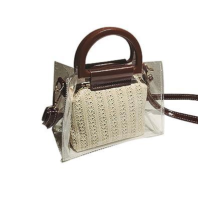 Strandtasche Mode Pvc Tenthome Taschen Damen Stroh dCoBxe