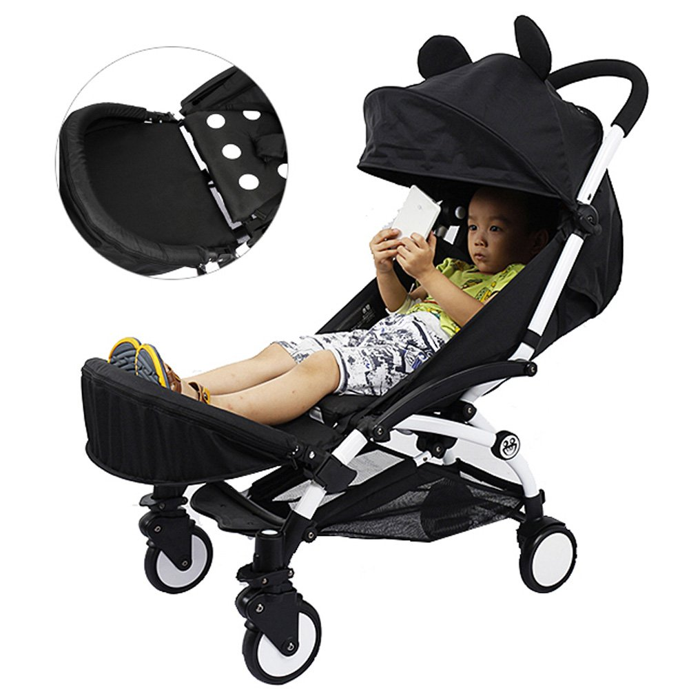 Generic Extended Booster Seat Footrest For Babyzen YOYO YOYO+ Stroller ROMIRUS YY14S-Footrest-CA