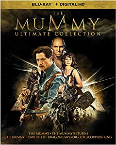 The Mummy: Ultimate Collection Pre-Order (Blu-Ray + Digital HD) $22.96 at  amazon.com online deal