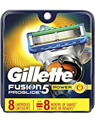 Gillette Fusion5 ProGlide Men's Razor Blade Refills, 8 Count (Packaging May Vary), Mens Fusion Razors / Blades