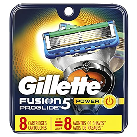Gillette Fusion5 ProGlide Men's Razor Blade Refills, 8 Count (Packaging May Vary), Mens Fusion Razors / - Blade