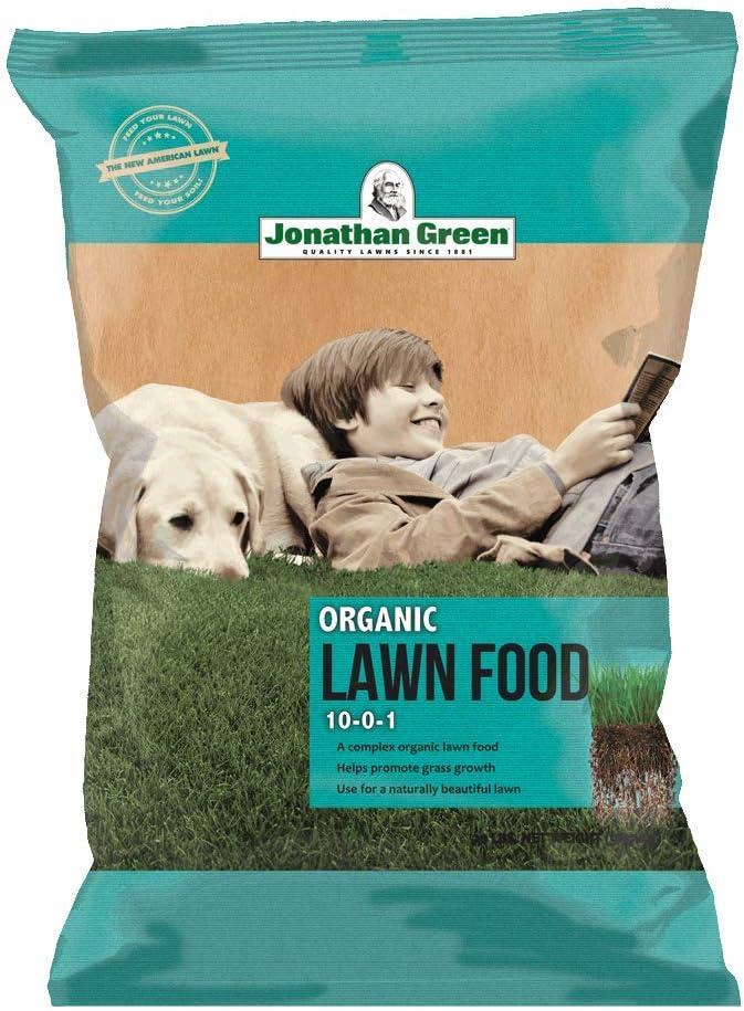 Jonathan Green & Sons, 103108-0-1 Organic Lawn Food, 5000 sq. ft.