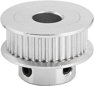 5Pcs Polea de Sincronización Para Correa Dentada GT2(Paso 2 mm ...