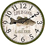 Cheap Personalized Bass Fishing Clock