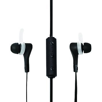 LogiLink BT0040 Dentro de oído Binaural Inalámbrico Negro: Amazon.es: Electrónica