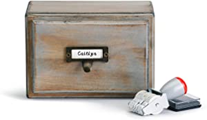Redrock Traditions for The Love of Books 7 x 5 Wood File Box and Notecard Set