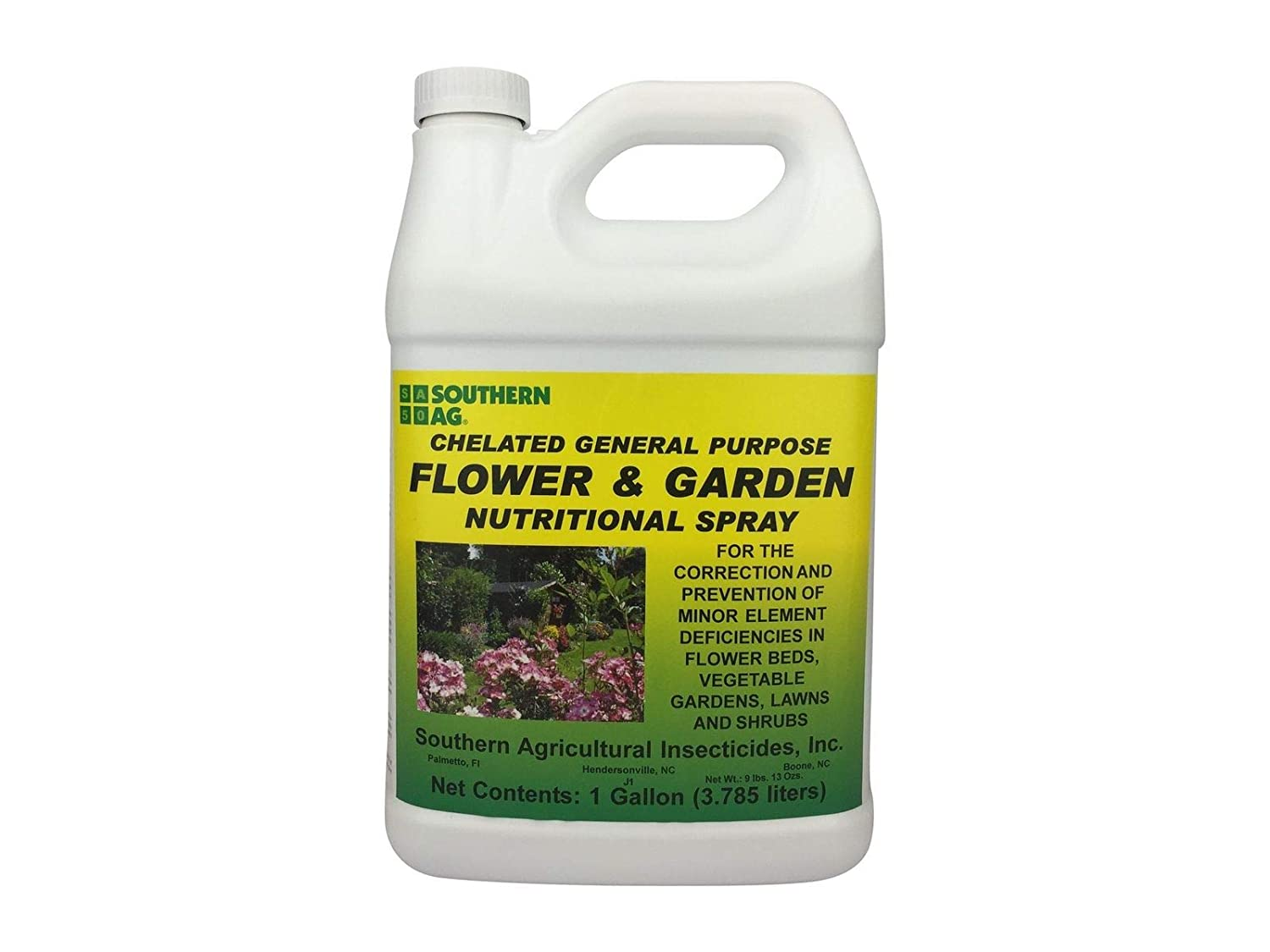 Southern Ag Chelated General Purpose Flower & Garden Nutritional Spray, 1 Gallon