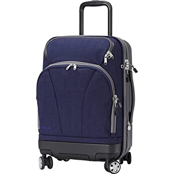 d1149f3f6 Amazon.com | eBags TLS Hybrid (Hardside/Softside) Spinner Expandable Luggage  - 22-inch - Carry-On - (Brushed Indigo) | Carry-Ons
