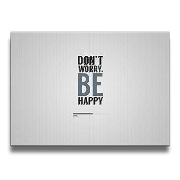 Amazon.com: Janvonne 1620 Inch Don\'t Worry Be Happy Photograph ...