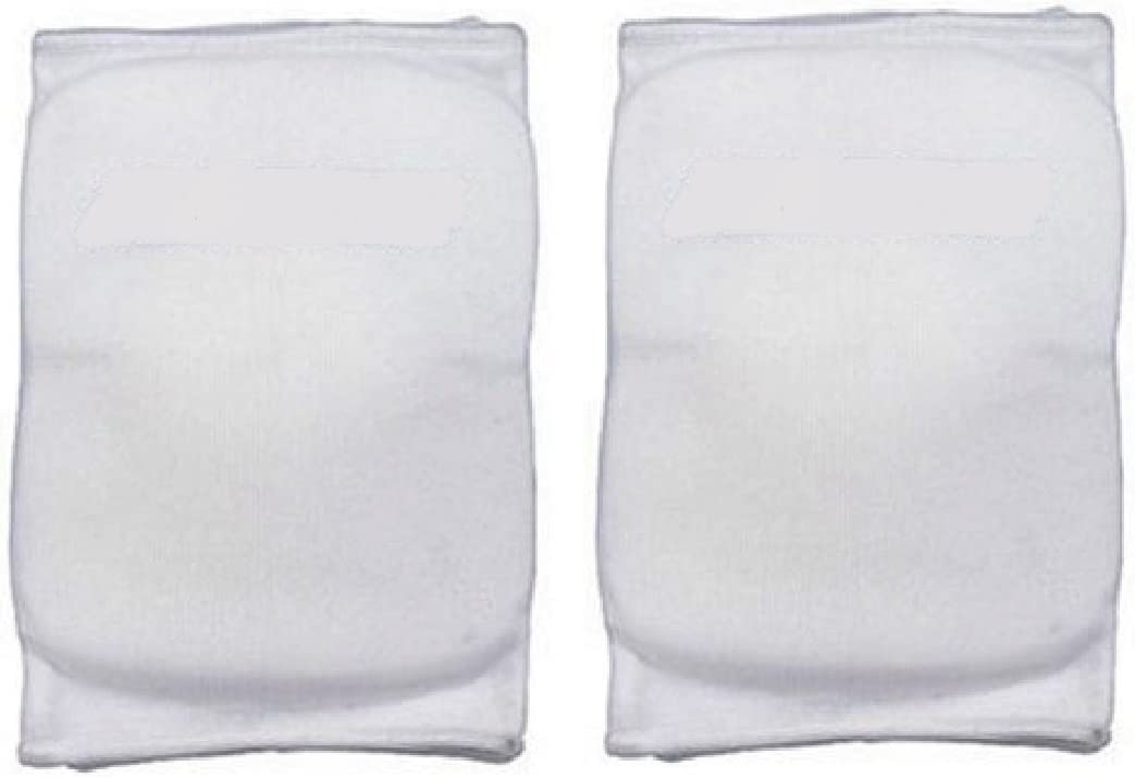 (Large, 白い) - Martin Sports Volleyball-Basketball Knee Pads Avail. In Small Medium Large