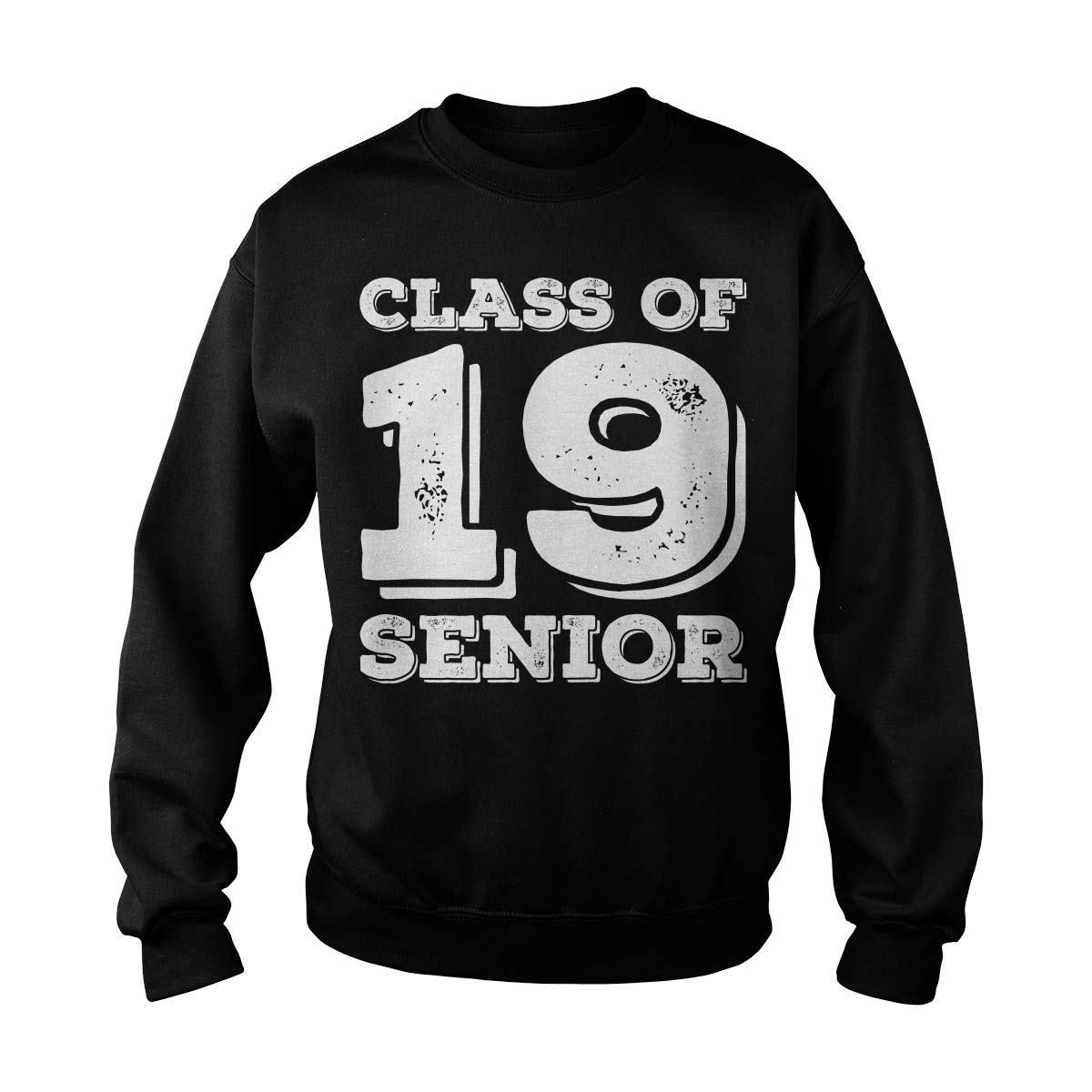 Zinko Senior Class of 2019 High School Senior Adult Crewneck Sweatshirt