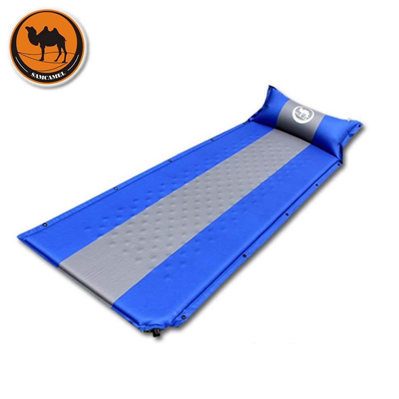 Dooret Wüste Kamel CS036 High Class selbstaufblasende Outdoor-Camping-Matte Matratze feuchtigkeitsdichten Single Schlafmatte mit Kissen