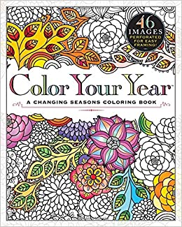 Amazon Color Your Year A Changing Seasons Coloring Book 9780761193128 Workman Publishing Books