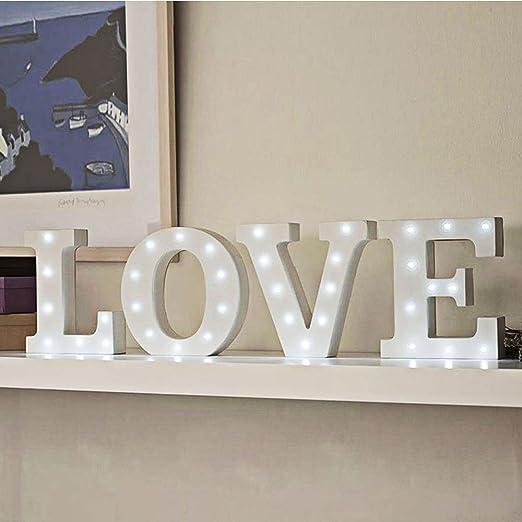 led letter lights decorative alphabet lights wooden light up decor